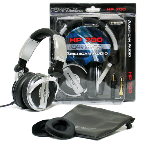 American Audio HP700  наушники