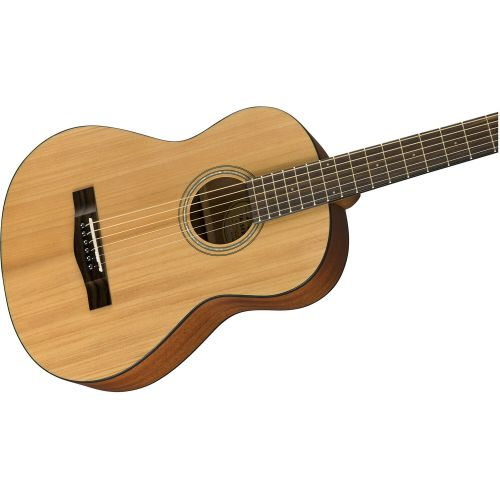 Акустическая гитара Fender FA-15 3/4 W/GIG BAG NATURAL