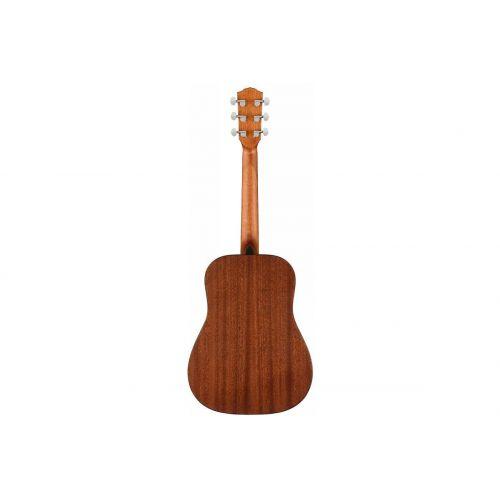 Акустическая гитара Fender FA-15 STEEL 3/4 BLACK WN w/BAG