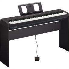 Цифровое пианино YAMAHA P-45B + сертификат на стойку и бесплатная доставка!