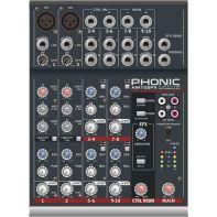 Пассивный микшерный пульт Phonic AM 105 FX