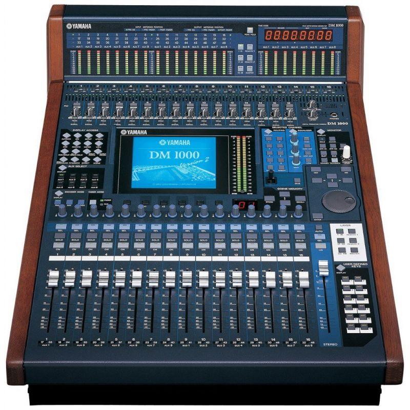 Цифровой микшерный пульт Yamaha DM-1000VCM