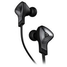 Monster® DNA In-Ear Headphones with Apple ControlTalk™ - Black with Satin Chrome Finish