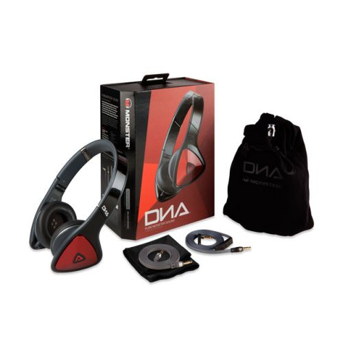 Monster® DNA On-Ear Headphones - Black Red