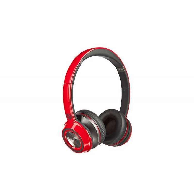 Monster® NCredible NTune On-Ear Headphones - Cherry Red