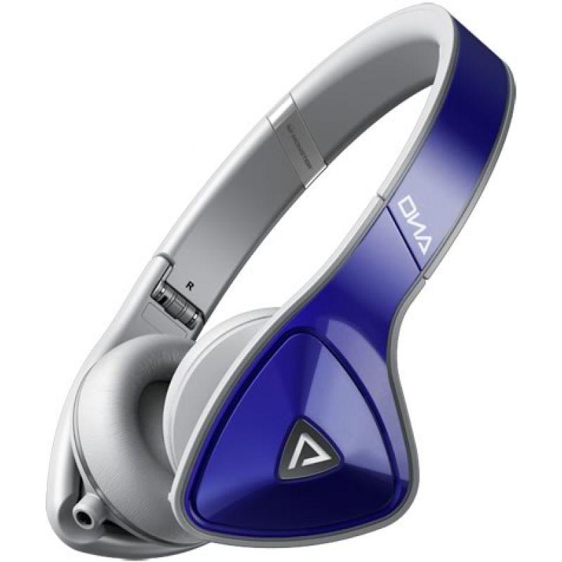 Monster® DNA On-Ear Headphones - Cobalt Blue Over Light Grey