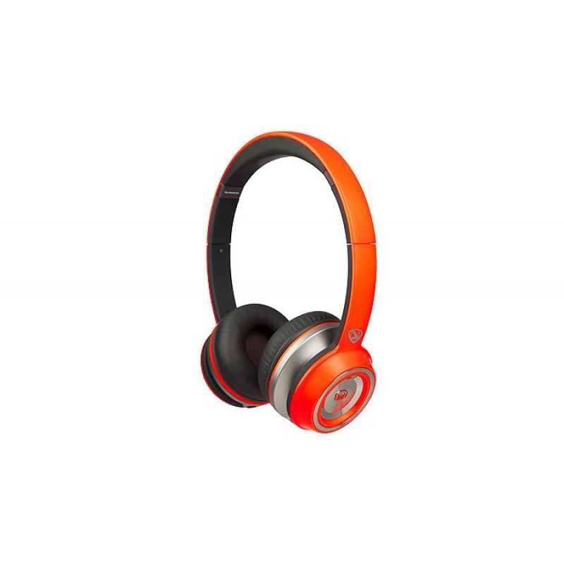 Monster® Ncredible NTune Matte On-Ear Headphones (Neon Orange)