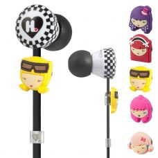 Monster® Harajuku Lovers Wicked Style In-Ear Featuring Interchangeable Faces