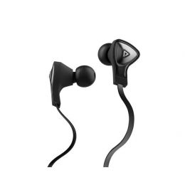 Monster® DNA In-Ear Headphones with ControlTalk™ Universal - Black with Satin Chrome Finish