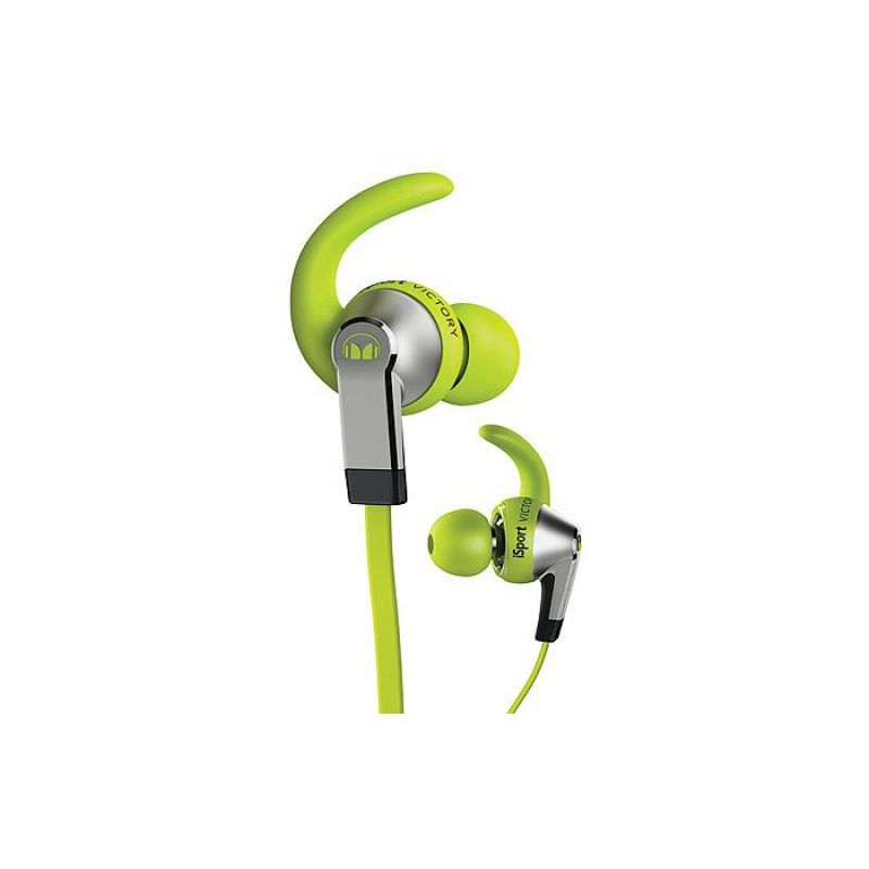 Monster® iSport Victory In-Ear, Apple ControlTalk - Green