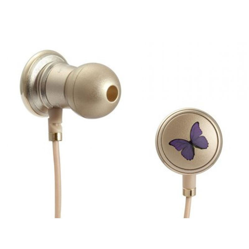 Monster Butterfly by Vivienne Tam with ControlTalkIn-Ear Headphones