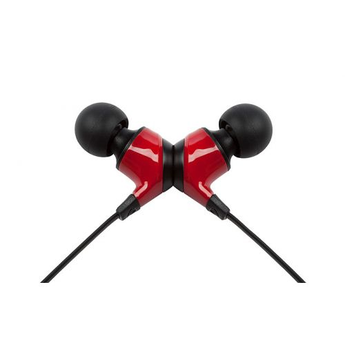 Monster® MobileTalk™ In-Ear Headphones Noise Isolating - Cherry Red