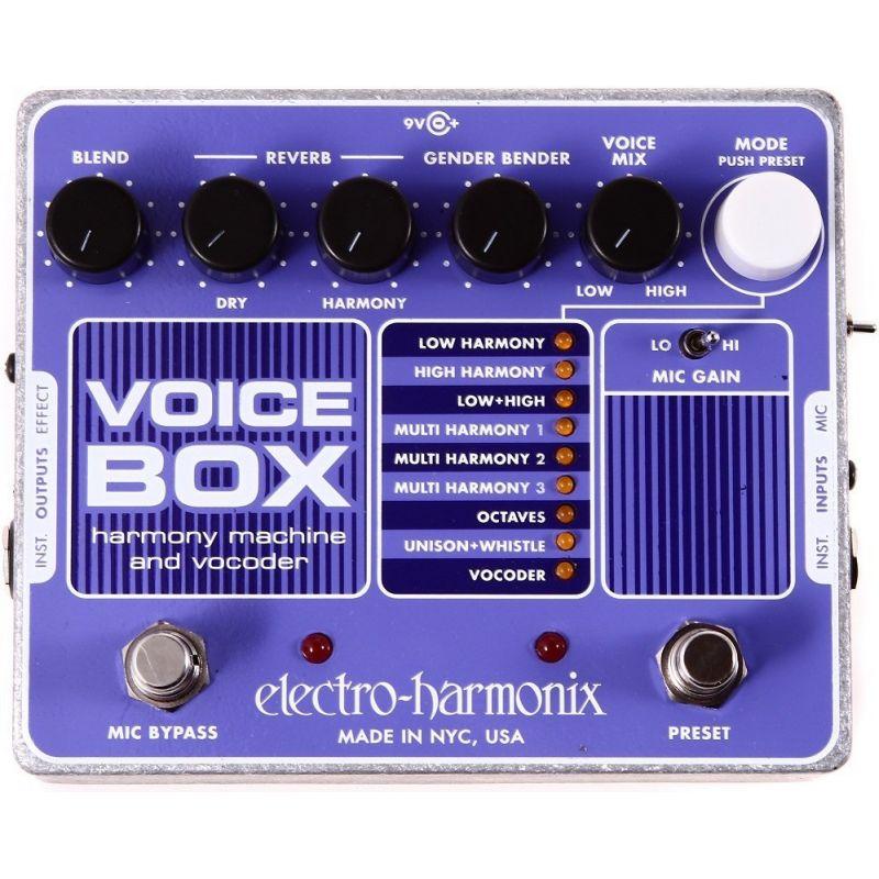 Вокальный процессор эффектов Electro-harmonix Voice Box